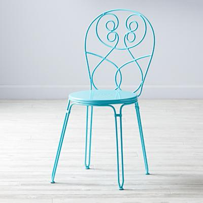 Looking Glass Desk Chair (Azure)