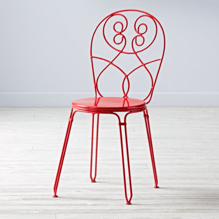 Kids Chairs: Kids Raspberry Red Play Chair - Raspberry Looking Glass Desk Chair