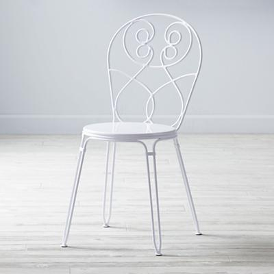 Looking Glass Desk Chair (White)