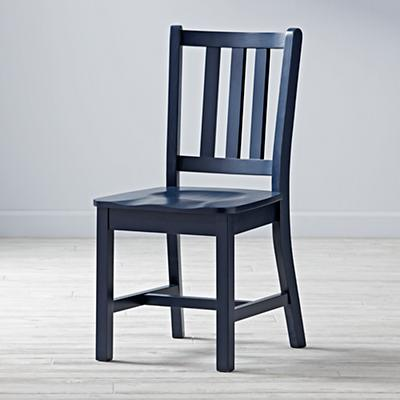 Parker Desk Chair (Midnight Blue)