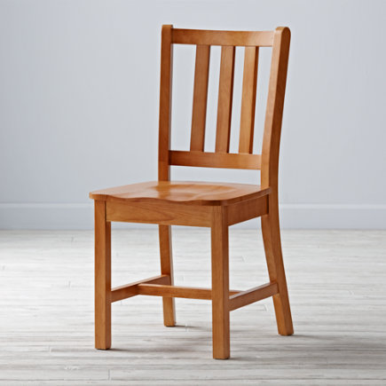 Kids Desk Chairs: Kids Wooden Classic Parker Desk Chairs - Natural Parker Desk ChairFloor to Seat: 18 H