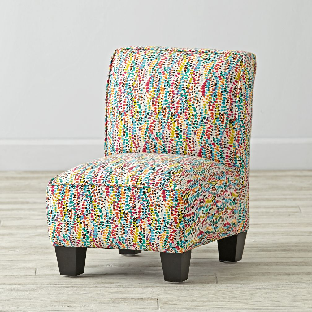 Petite Upholstered Chair (Vortex Multi)
