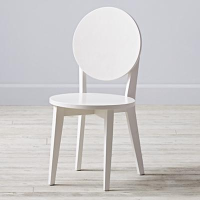 Double Dot White Play Chair