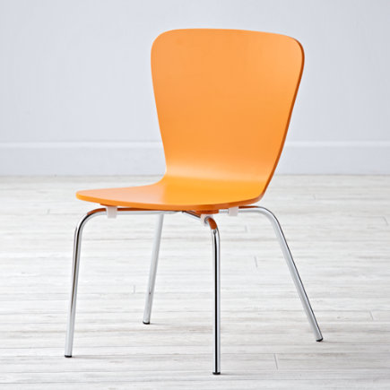 Kids Chairs: Kids Orange Play Chair - Orange Little Felix ChairFloor to Seat: 14 H