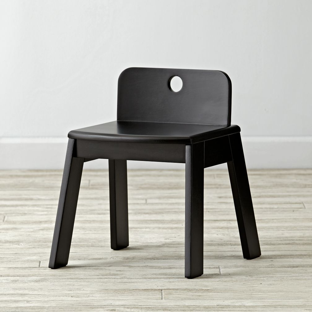 Mojo Black Kids Chair