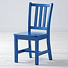 "Cobalt Blue Parker Play ChairFloor to Seat: 14"" H"