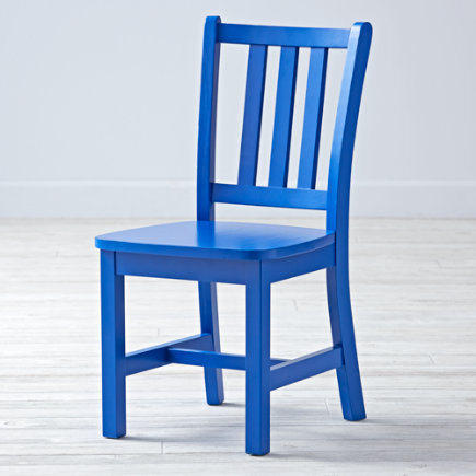 Cobalt Blue Parker Play ChairFloor to Seat: 14 H