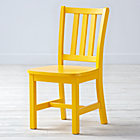 "Bright Yellow Parker Play ChairFloor to Seat: 14"" H"