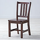 """Espresso Parker Play ChairFloor to Seat: 14"""" H"""