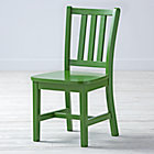 "Green Parker Play ChairFloor to Seat: 14"" H"