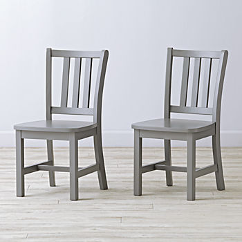 Set of 2 Parker Play Chairs (Grey)