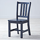 "Midnight Blue Parker Play ChairFloor to Seat: 14"" H"