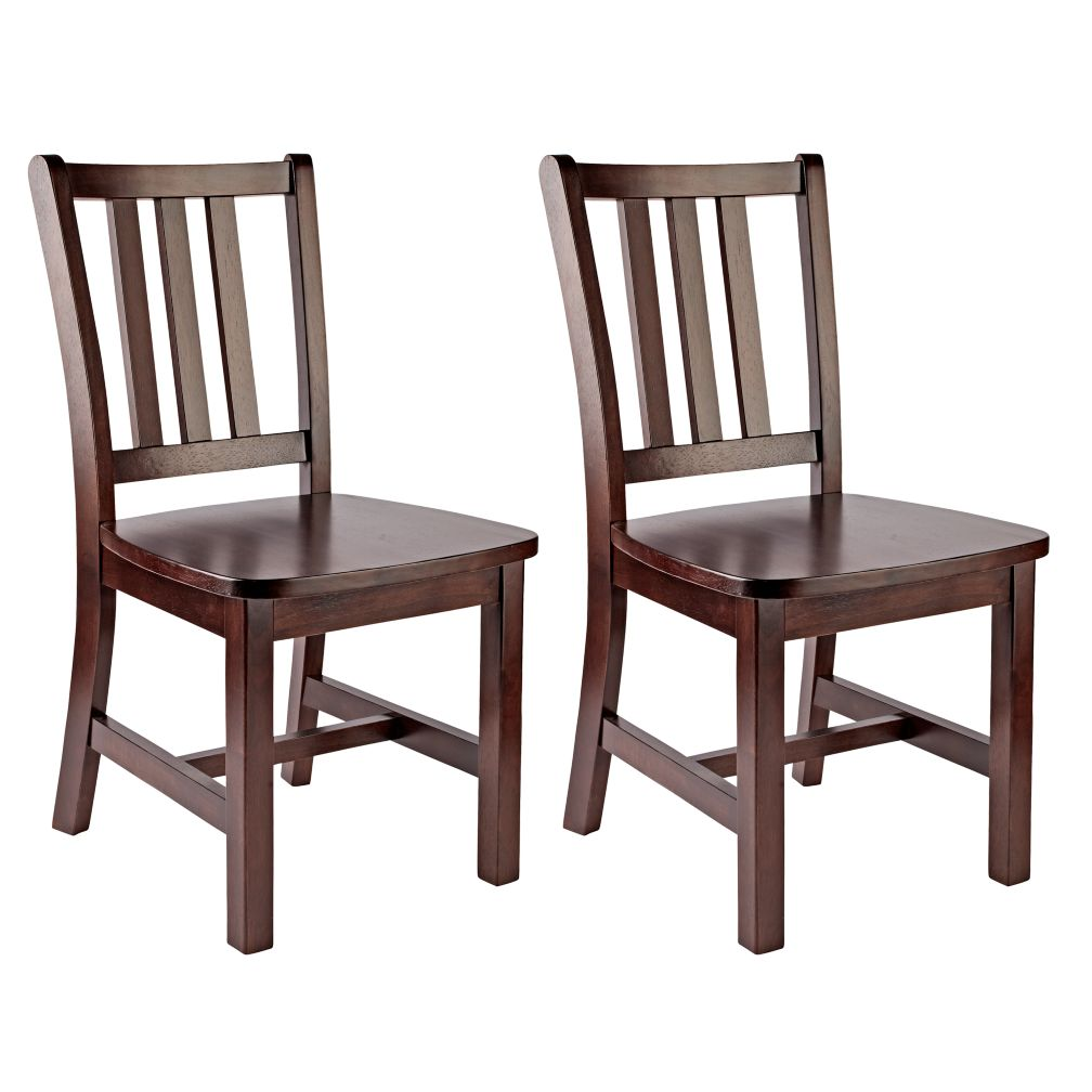 Set of 2 Parker Play Chairs (Espresso)