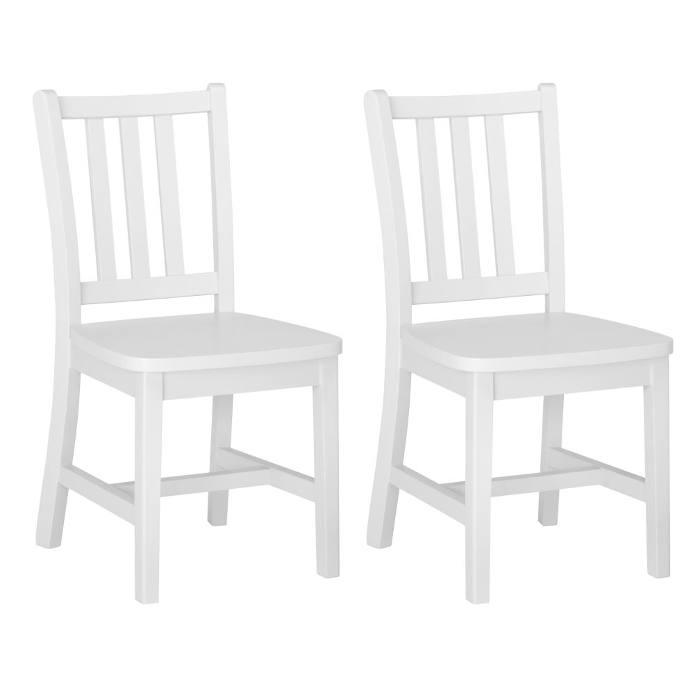 Set of 2 Parker Play Chairs (White)