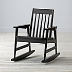 Black Rocking Play Chair