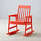 Warm Red Rocking Play Chair