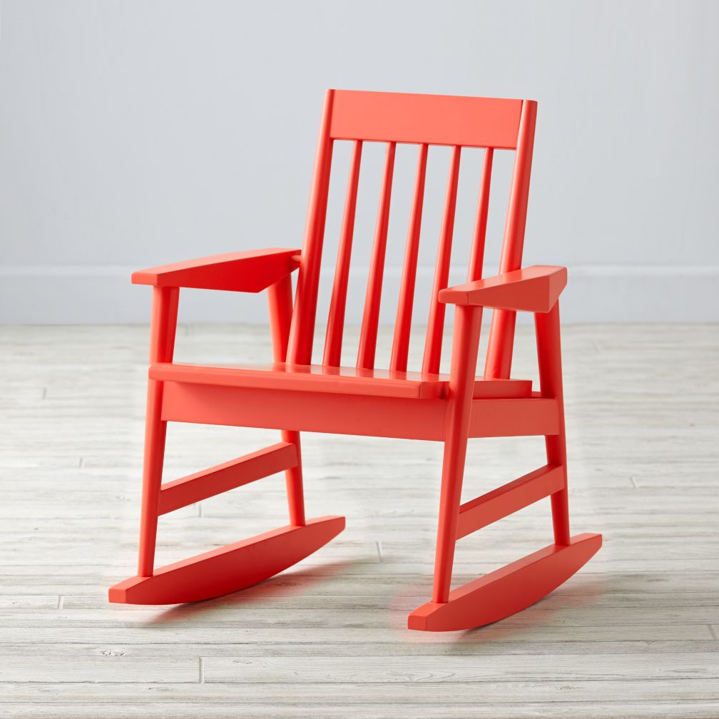 Rocking Play Chair (Red)