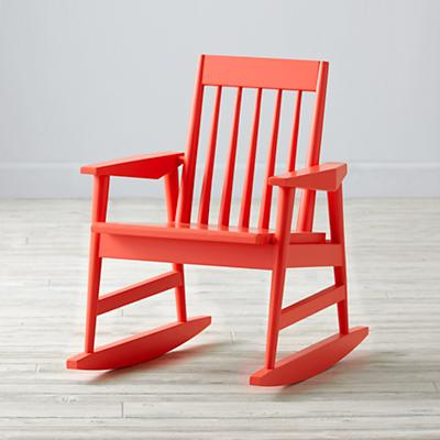 Rocking Play Chair (Warm Red)