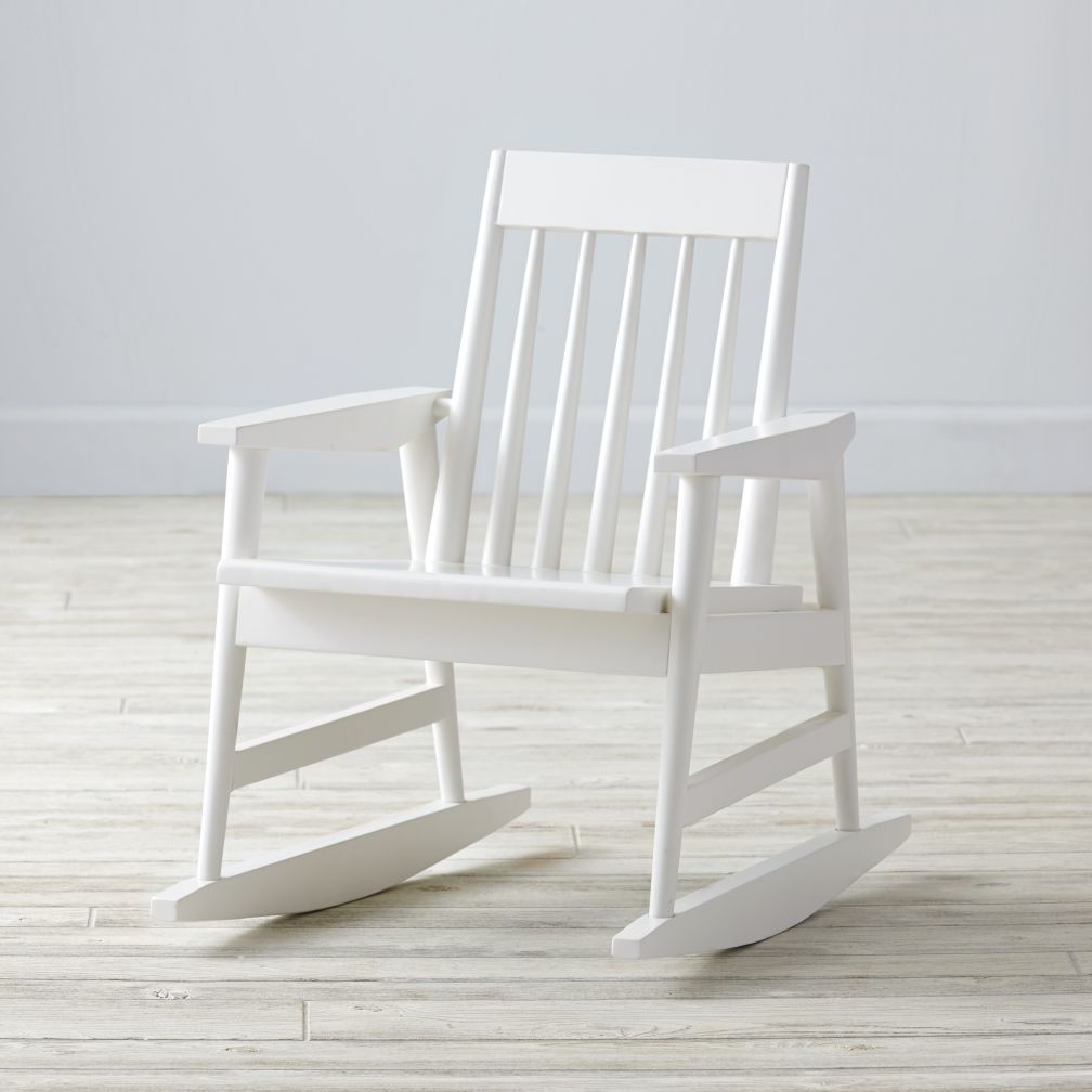 Rocking Play Chair (White)