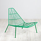 Green Domino Lounge Chair