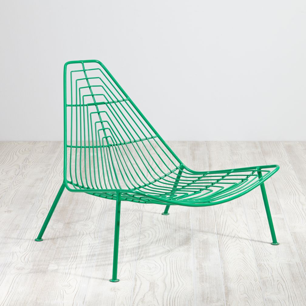Domino Lounge Chair (Green)