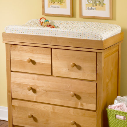 Baby Changers Baby Natural Wood Changing Top - Natural Changing