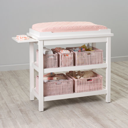 Baby Changers: Baby White Durable Changing Table - White Changing Table