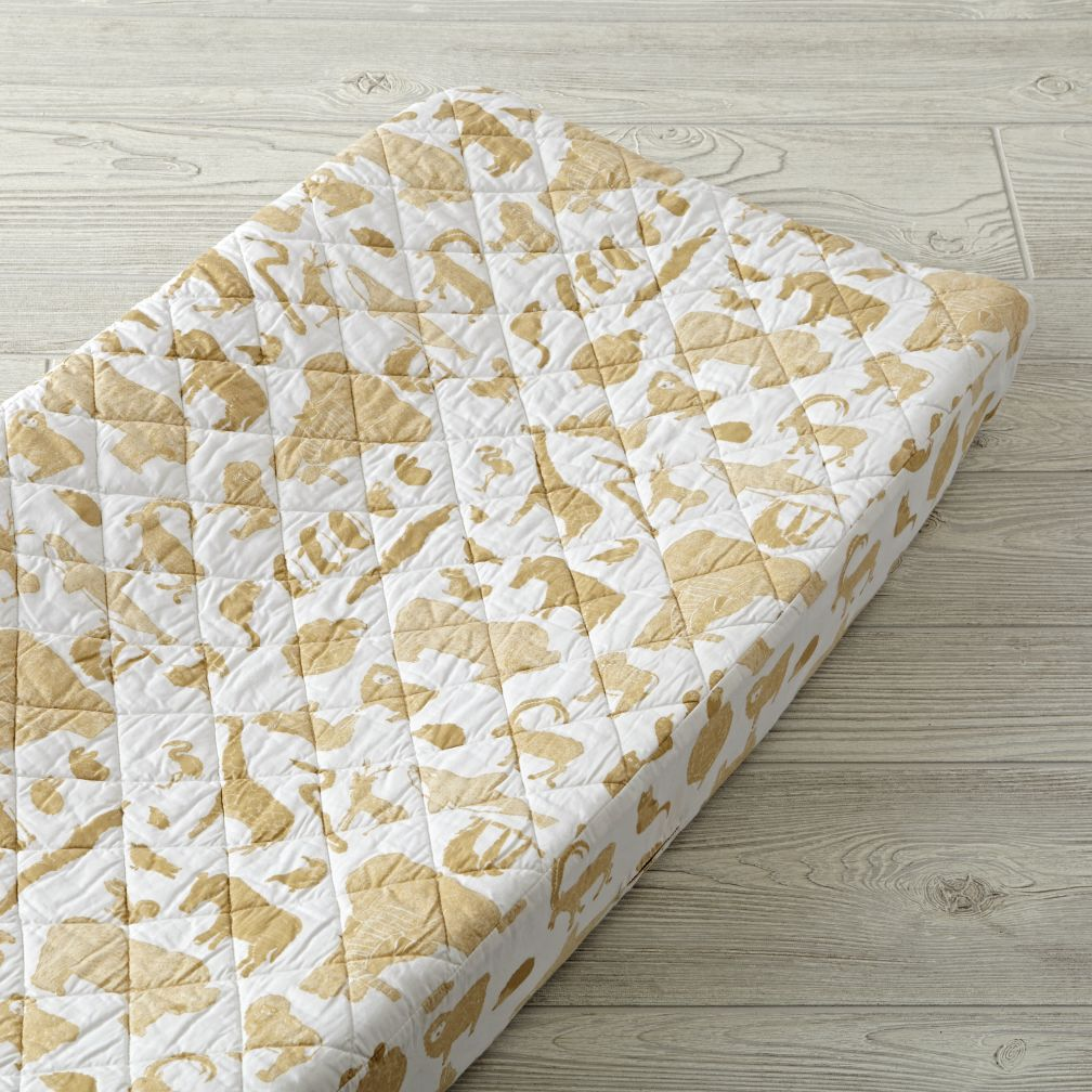 Menagerie Changing Pad Cover