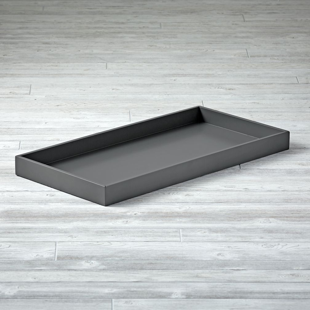 Cargo Changing Table Topper (Charcoal)