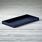 Midnight Blue Uptown Changing Table Topper