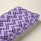 Purple Zig Zag Changing Pad Cover