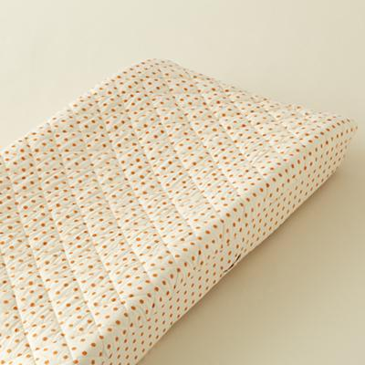 Bright Eyed, Bushy Tailed Changing Pad Cover (Dot)