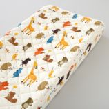 Bright Eyed, Bushy Tailed Changing Pad Cover
