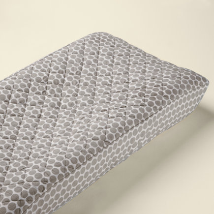 Baby Changers: Baby Khaki Dot Changing Pad Cover - Khaki Dot Changing Pad Cover