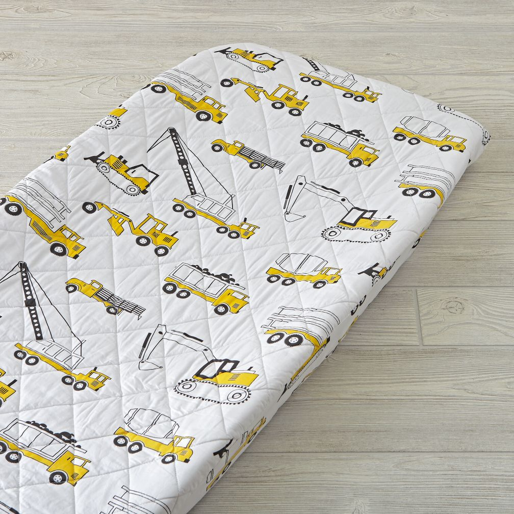 Builder's Changing Pad Cover