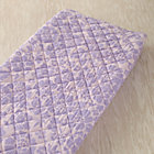 Lavender Floral Changing Pad Cover