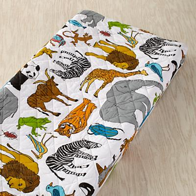 Welcome to the Jungle Changing Pad Cover