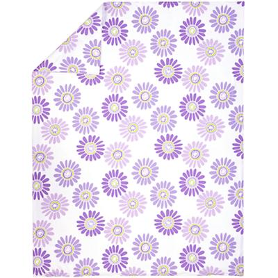 Full-Queen Lavender Citrus Daisy Duvet Cover