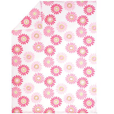 Fresh as a Daisy Pink Duvet Cover (Full-Queen)