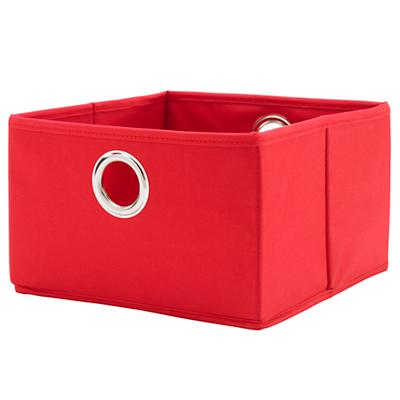 I Think I Canvas Wide Drawer (Red)