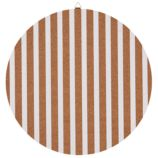 "16"" Perfect Circle Corkboard (Stripe)"