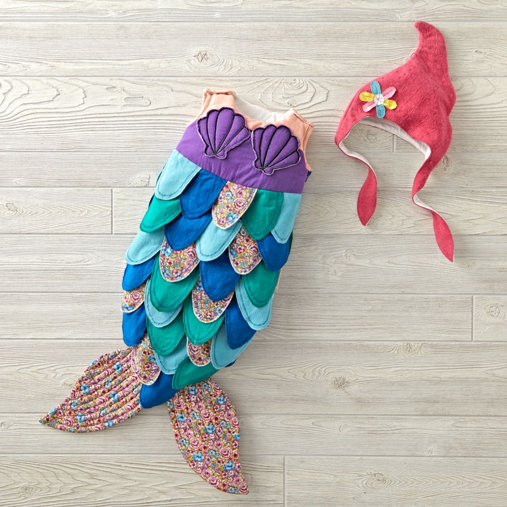 Mermaid Baby Costume