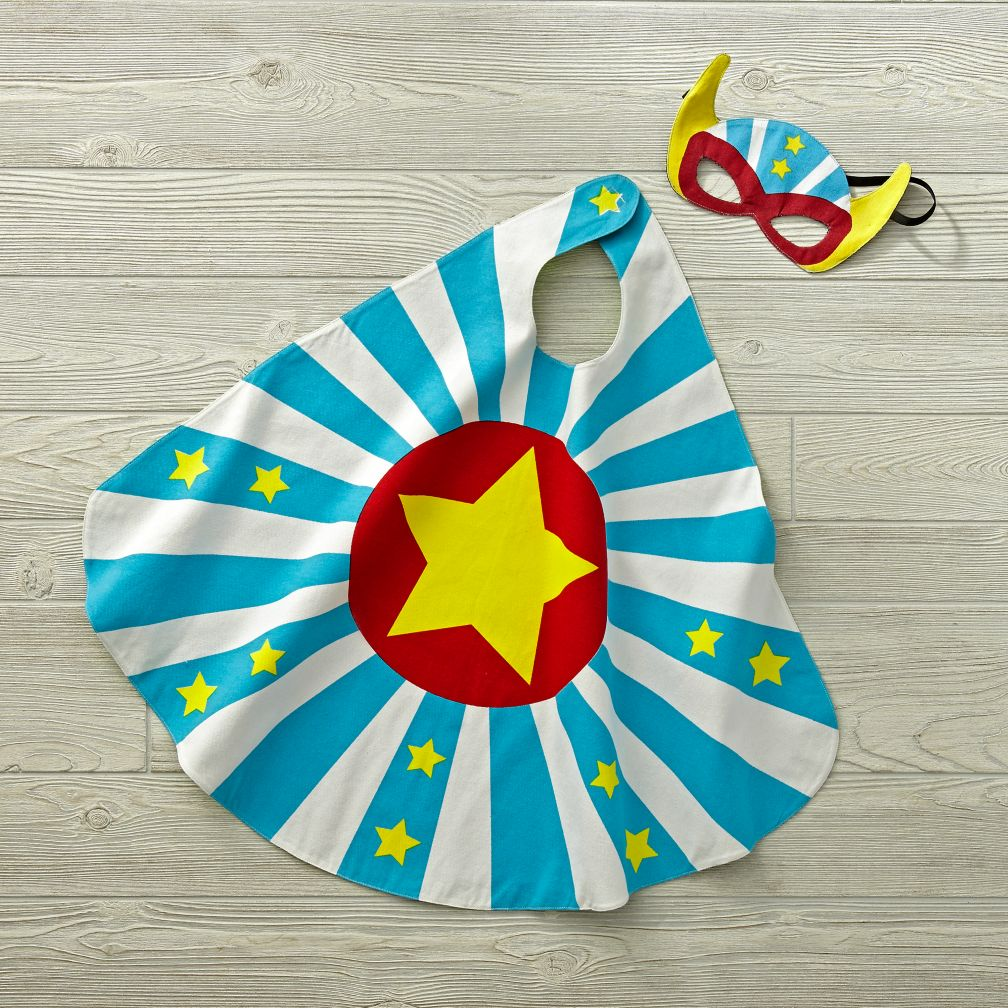Reversible Masked Hero Boy Costume