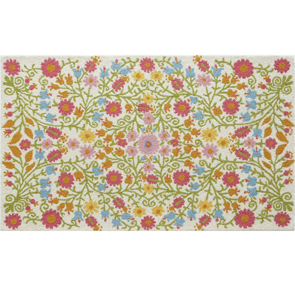 4 x 6' Better Floors and Gardens Rug (Cream)