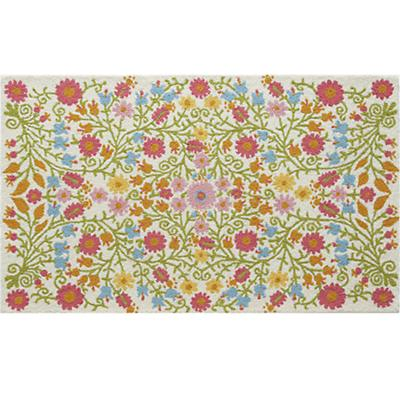 5 x 8' Better Floors and Gardens Rug (Cream)