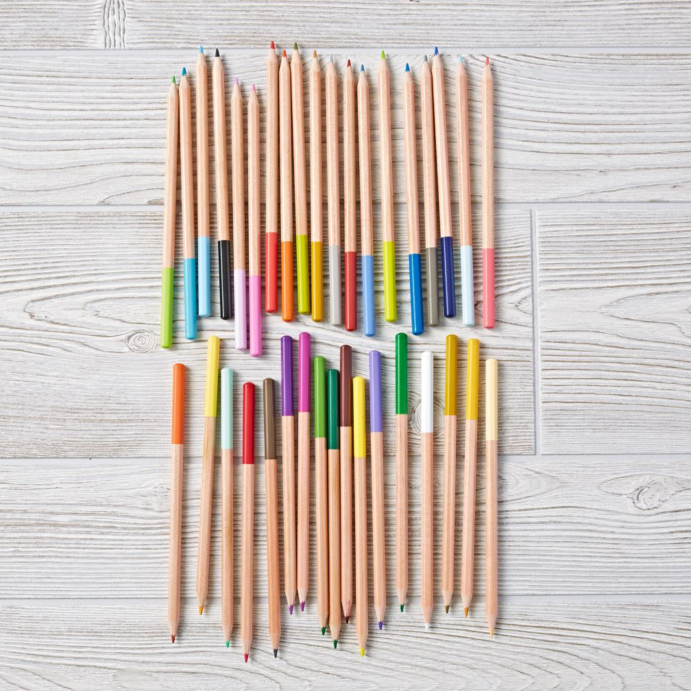 Set of 36 Colored Pencils