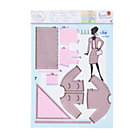 Jackie Coco Pink Dress Pattern