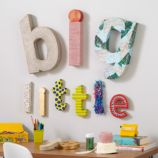 Large Crafty Kraft Paper Letter