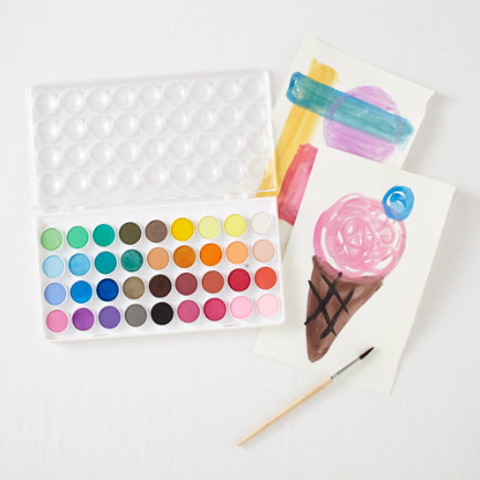 Little Paint Pods Kids Watercolor Kit - Little Paint Pods Watercolor