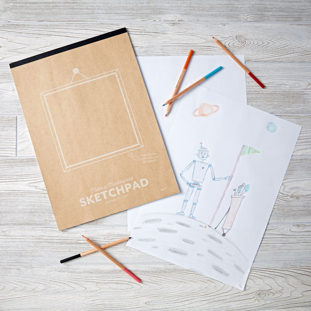 Make A Masterpiece Sketchpad